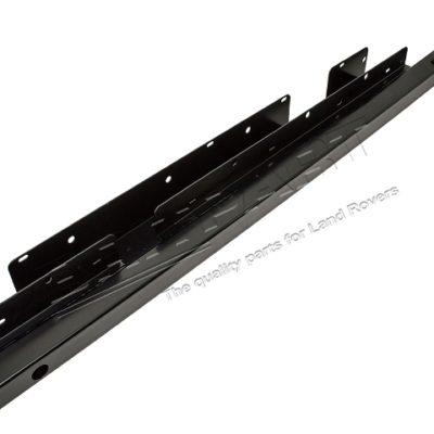 DISCO 1 - ROCK SLIDERS 5 DOOR BLACK POWDER COATED