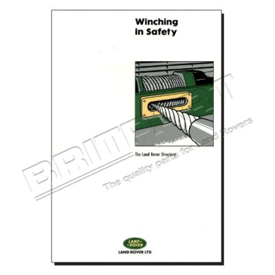BOOK - WINCH IN SAFETY