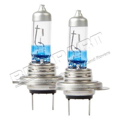 XENON +130% H7 HALOGEN H/LAMP BULB (PAIR)