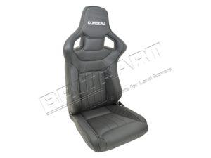 RRS SEATS DAKOTA/BLACK VINYL (PAIR)